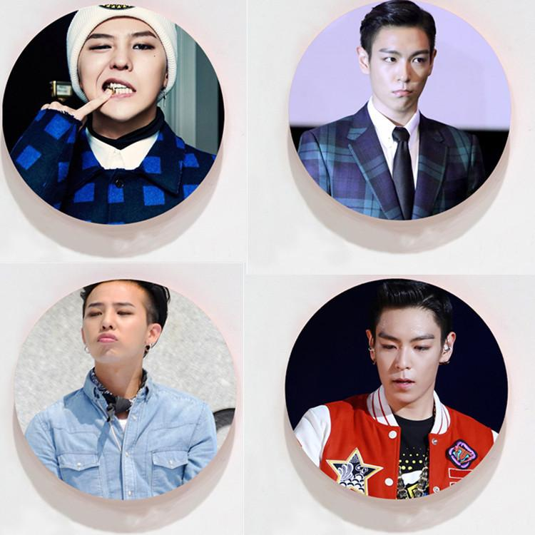 BIGBANG GD & T.O.P Bias Pin - Totemo Kawaii Shop