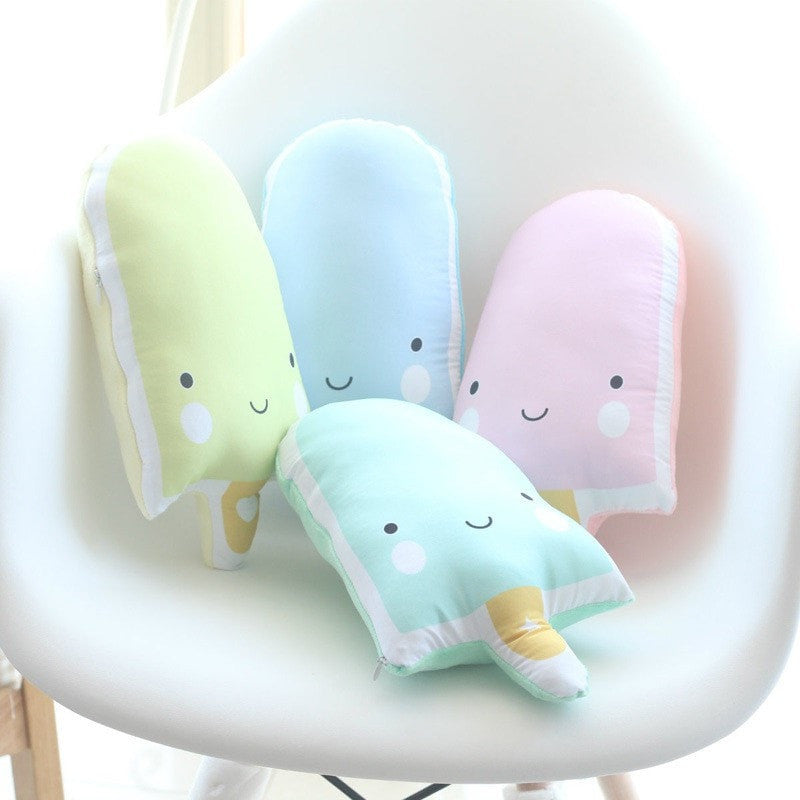 Ice Cream Bar Pillow - Totemo Kawaii Shop