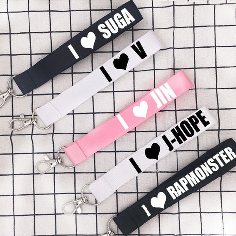 I Love BTS Key Chain - Totemo Kawaii Shop