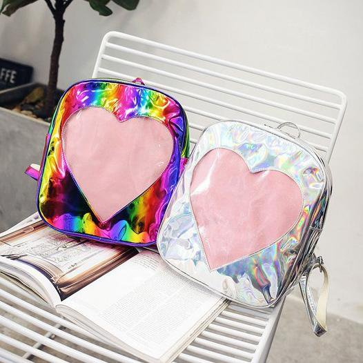 Aesthetic Heart Backpack - Totemo Kawaii Shop