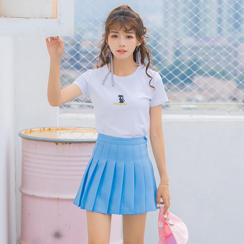 Korean Summer High Waist Skirt