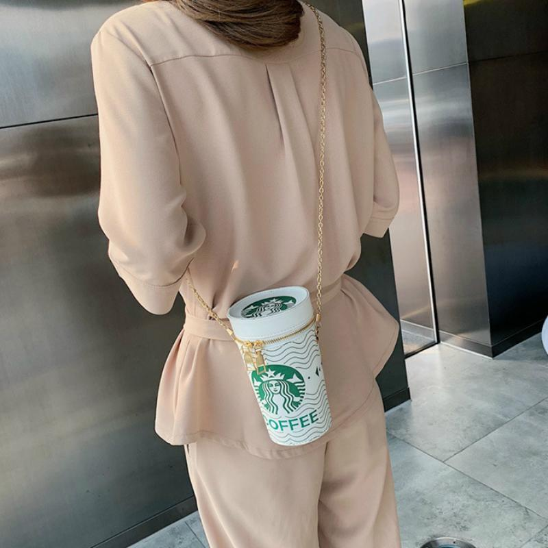 Morning Starbucks Shoulder Bag