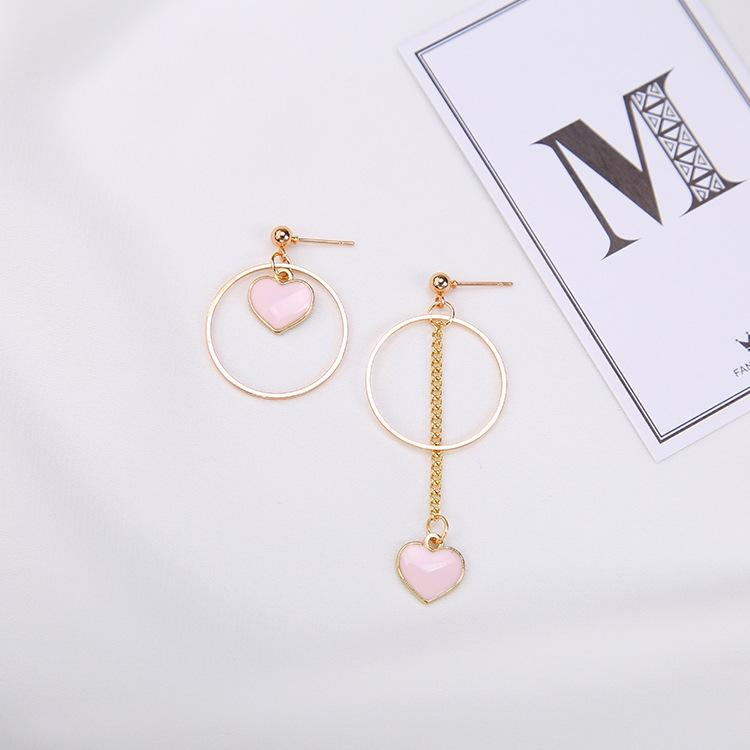 Korean Candy Heart Earrings