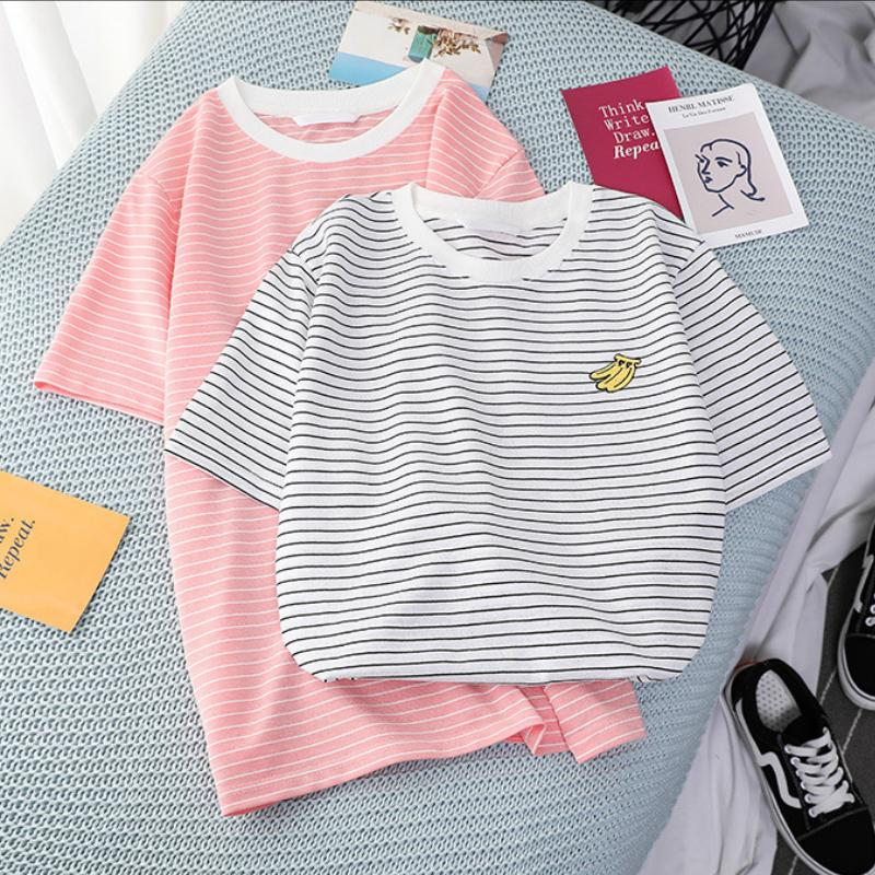 Summer Stripes Fruit Tee
