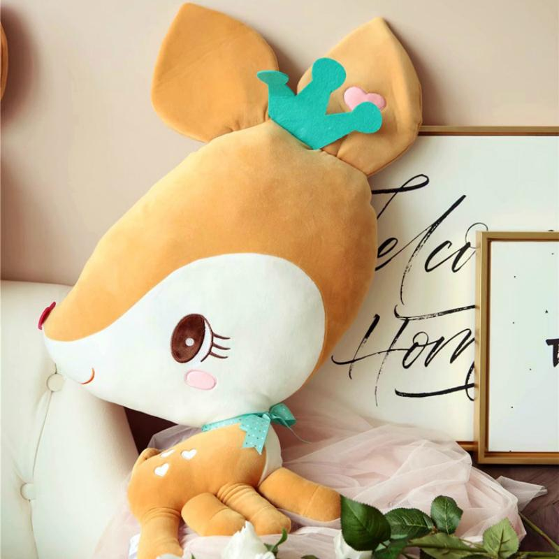 Kawaii Deer & Blanket Plush