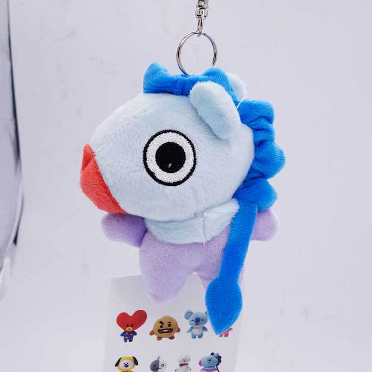 BTS X BT21 Plush Key Chain