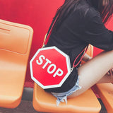 STOP Shoulder Bag