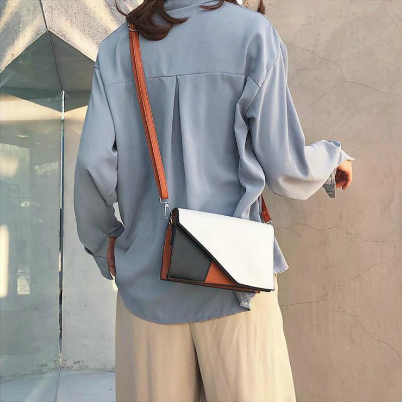 Korean Asymmetric Shoulder Bag