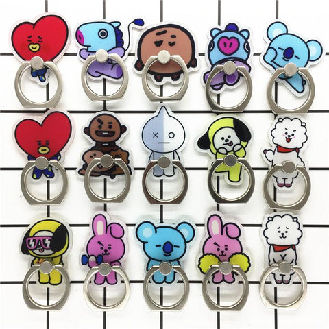 BT21 Phone Finger Holder - Totemo Kawaii Shop