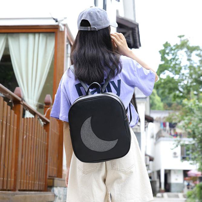 Transparent Moon Backpack