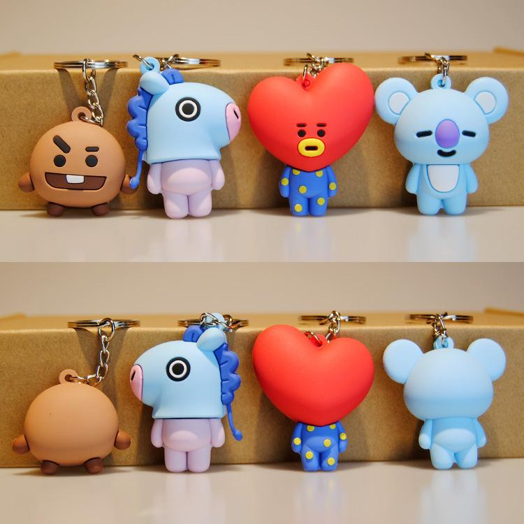 BTS X BT21 Mini Key Chain