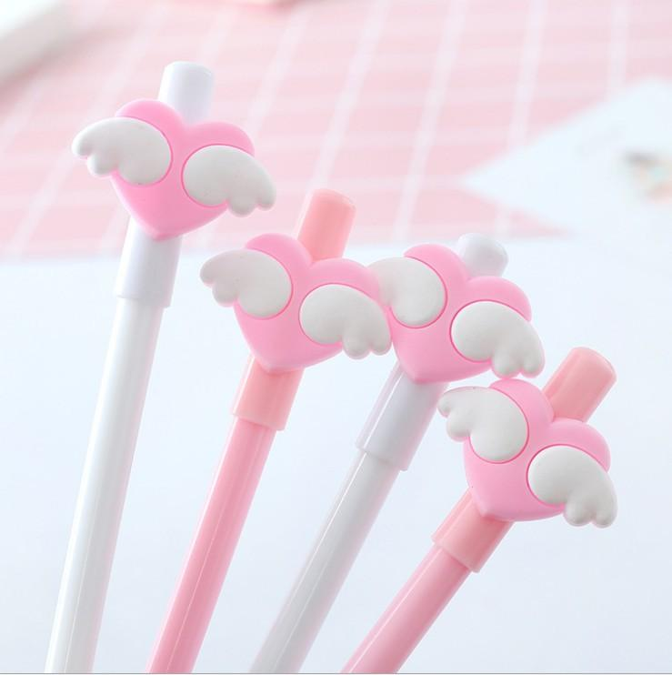 Angel Hearts Pen Set (Pack of 4) - Totemo Kawaii Shop