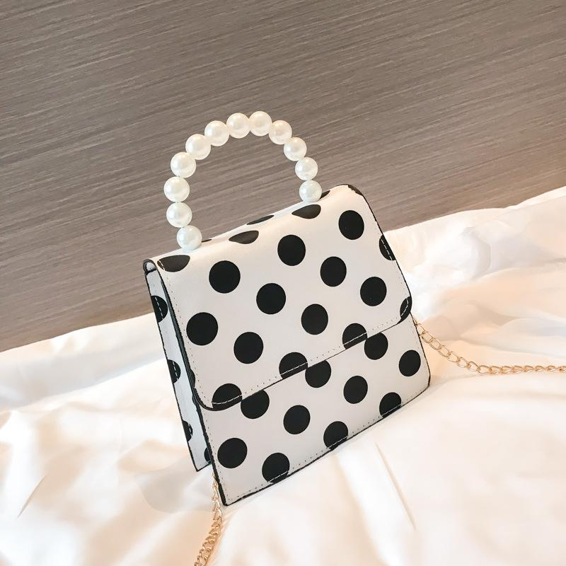 Polka Dots Shoulder Bag