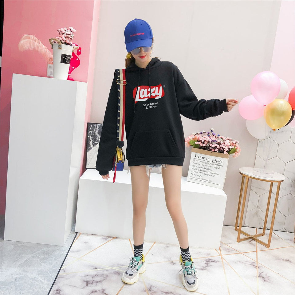 Lazy 'Oversized' Hoodie