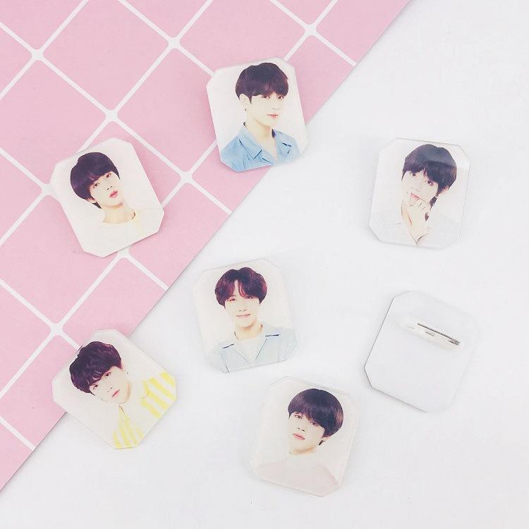 BTS Bias Badge