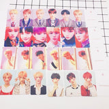 BTS LY World Tour Photo Cards