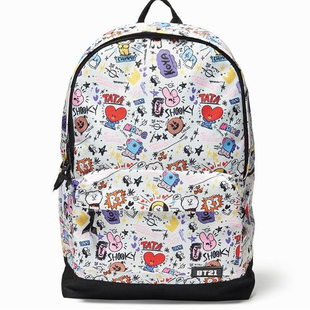 BT21 Cartoon Backpack - Totemo Kawaii Shop