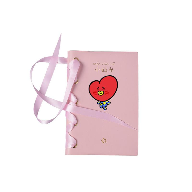 BT21 Pretty Bow Tie Notepad - Totemo Kawaii Shop