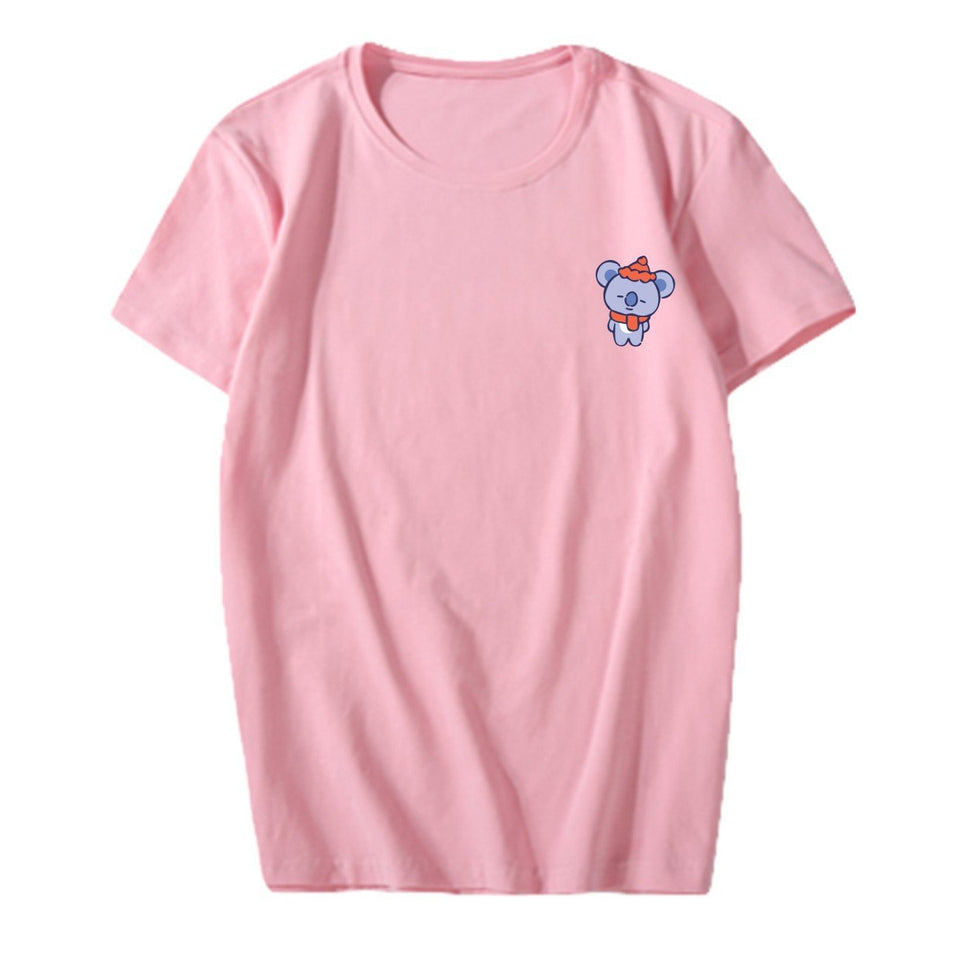 BT21 Christmas Tee - Totemo Kawaii Shop