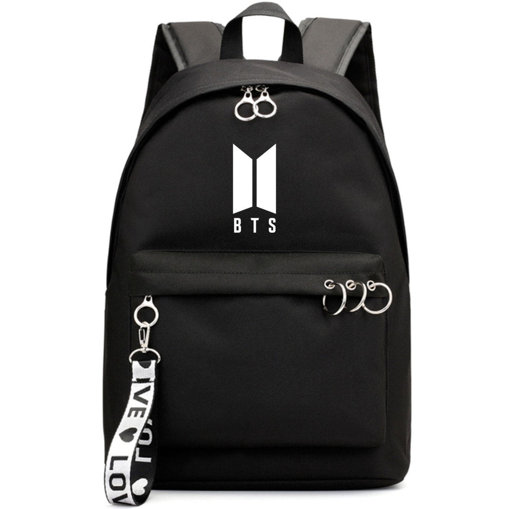 BTS Minimalist Ring Backpack - Totemo Kawaii Shop