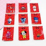 BT21 Christmas Notepad - Totemo Kawaii Shop