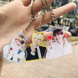 BTS Acrylic Bias Key Chain - Totemo Kawaii Shop