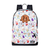 BTS Cartoon Backpack - Totemo Kawaii Shop