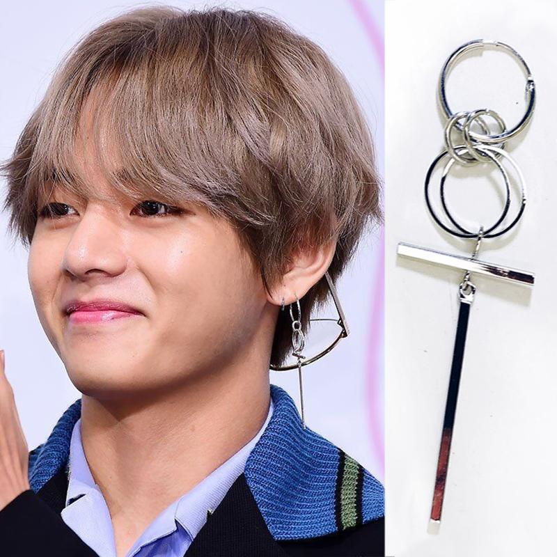 BTS X V Double Hoop Earring