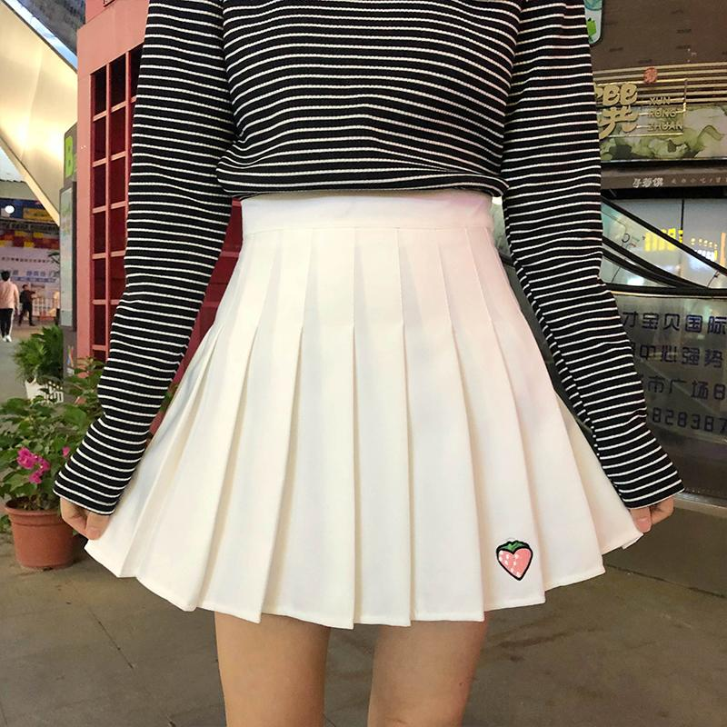 Strawberry Patch Summer Skirt