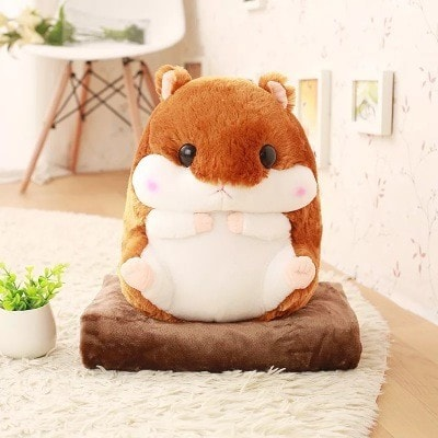 Hamster Plush & Blanket - Totemo Kawaii Shop