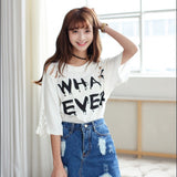 Whatever Harajuku Tee - Totemo Kawaii Shop