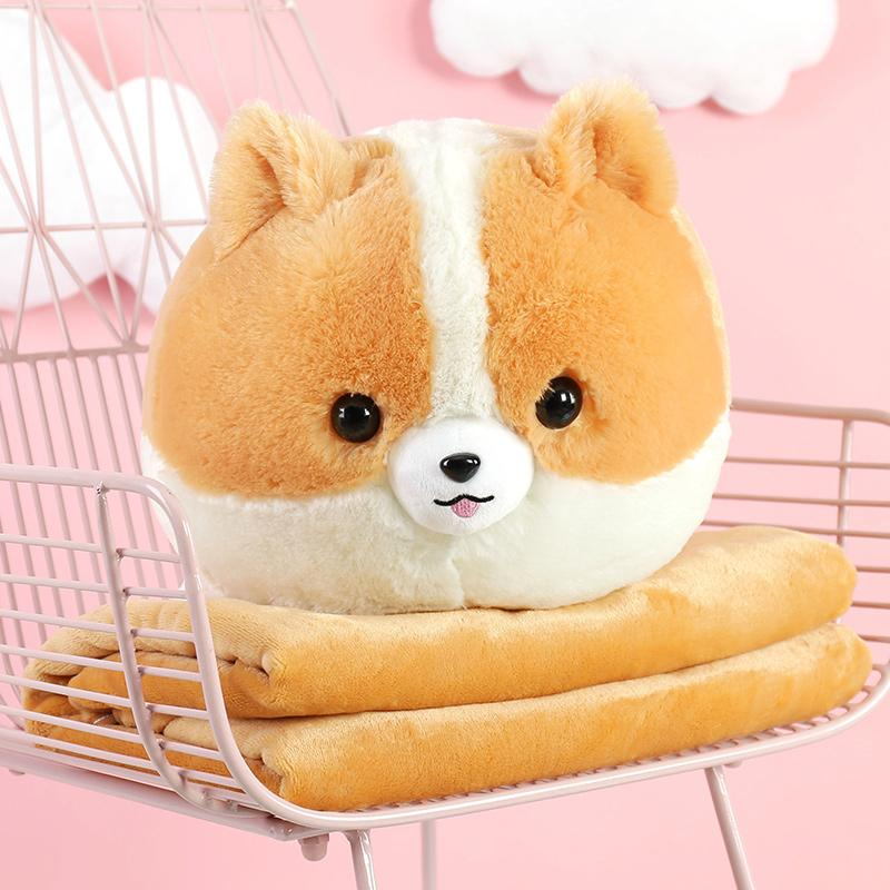 Cute Doggy Plush & Blanket - Totemo Kawaii Shop