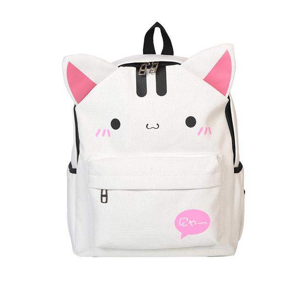 Happy Pink Kitty Backpack - Totemo Kawaii Shop
