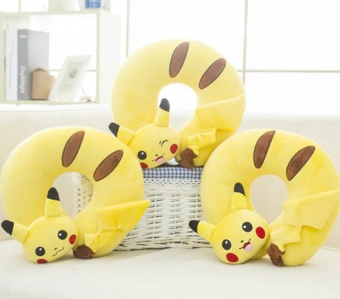Pikachu Travel Pillow - Totemo Kawaii Shop