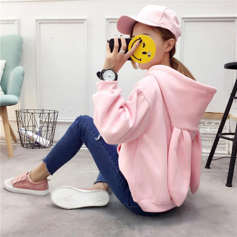 Little Bunny Hoodie - Totemo Kawaii Shop