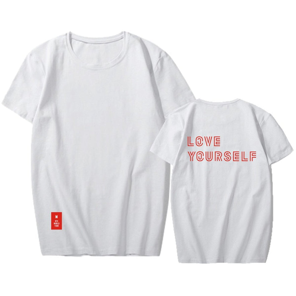 BTS 2018 Love Yourself World Tour Tee - Totemo Kawaii Shop