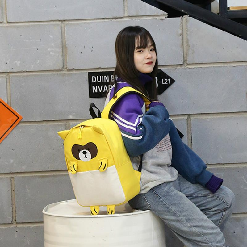 Ulzzang Raccoon Backpack