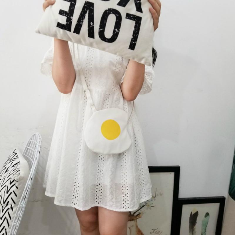 Over Easy Egg Shoulder Bag