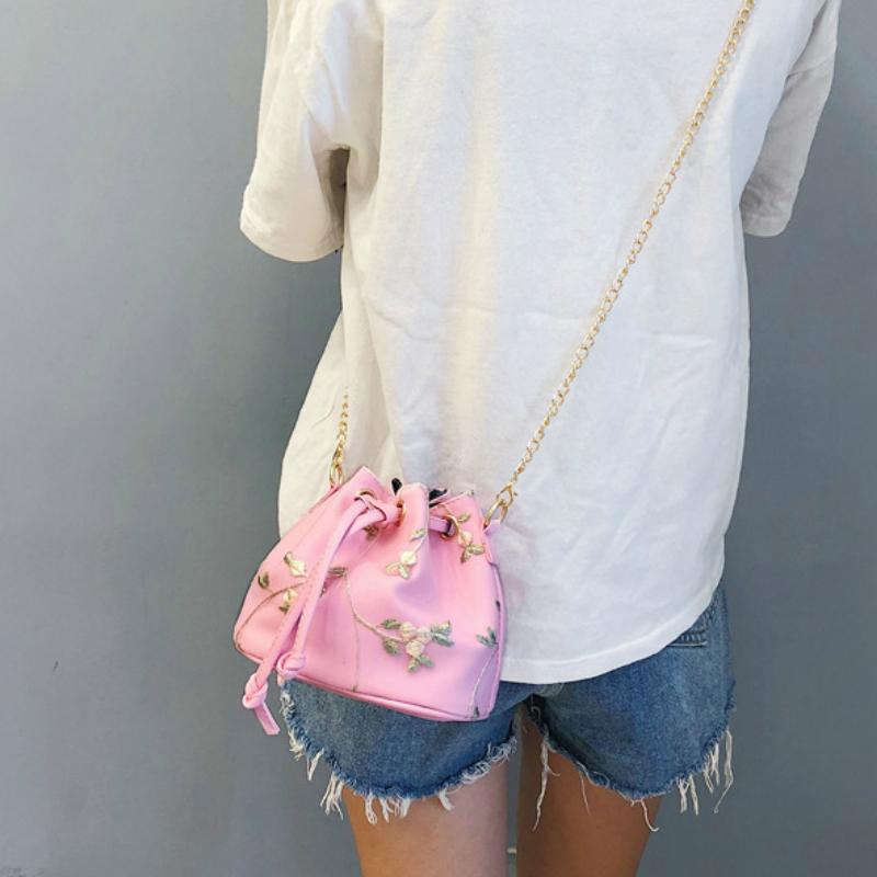 Korean Blossom Mini Shoulder Bag