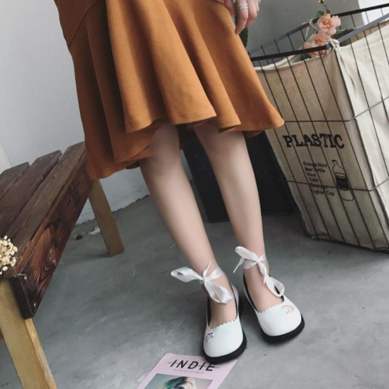 Ulzzang Moon & Stars Shoes