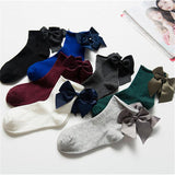 Korean Bow Tie Socks (Pack of 10)