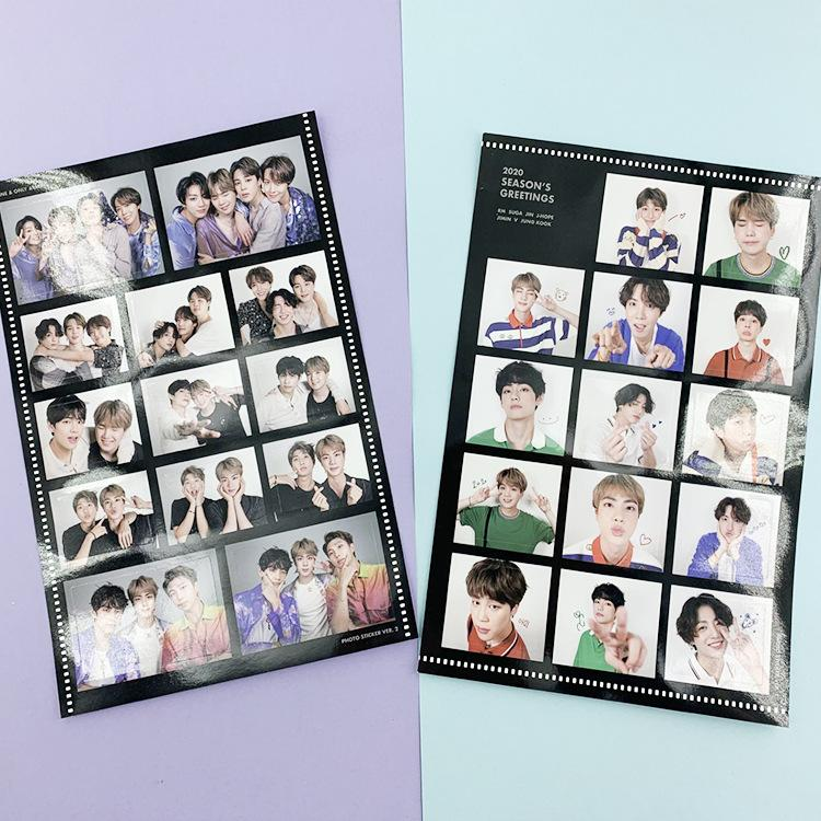 BTS 2020 Season's Greetings Sticker Pack