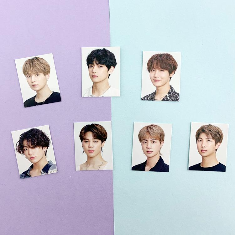 BTS 2020 Season's Greetings ID Photo Pack