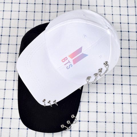 BTS Chained Rings Cap - Totemo Kawaii Shop