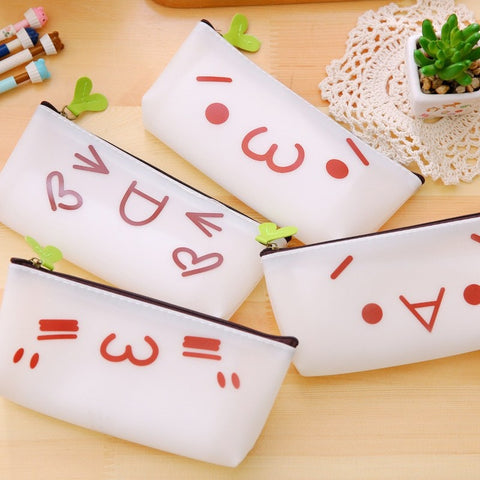 Kawaii Emoji Pencil Case - Totemo Kawaii Shop