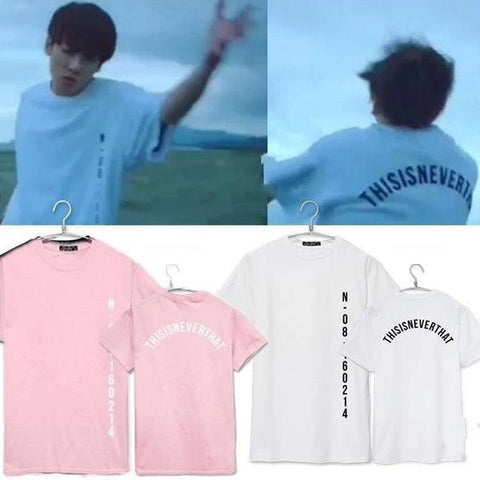 BTS Save Me Tee - Totemo Kawaii Shop