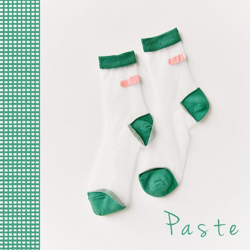 Japanese Transparent Band-Aid Socks - Totemo Kawaii Shop