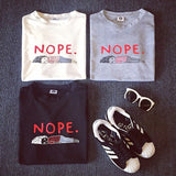 NOPE Casual Tee - Totemo Kawaii Shop