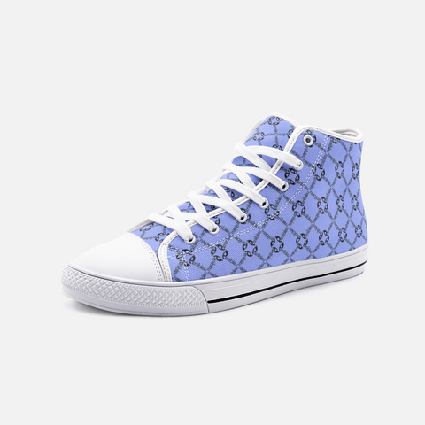 Periibleu Positivity High Top Sneakers