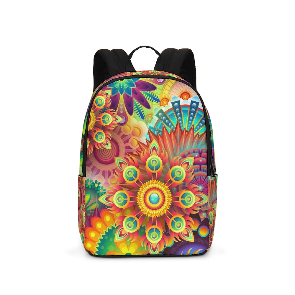 Periibleu Mandala Large Backpack